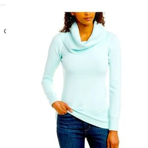 NWT Aqua French Connection Cowl Tunic Sweater